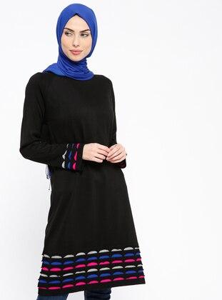 Triko Tunik - Siyah - PİLİSE Ürün Resmi