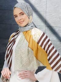 Multi - Printed - Casual Shawl