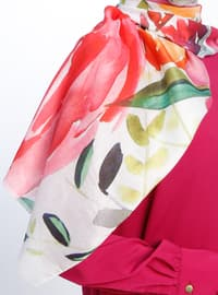 Multi - Printed -Casual Shawl