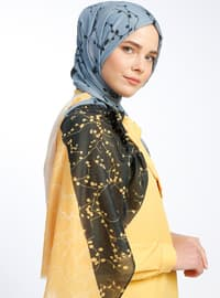 Multi - Printed - Casual Shawl