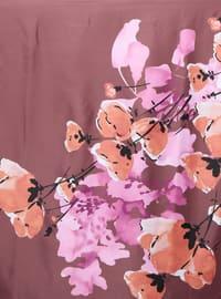 Dusty Rose - Printed - Scarf