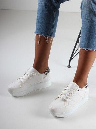 Spor Ayakkabı - Beyaz - İnan Ayakkabı Ürün Resmi