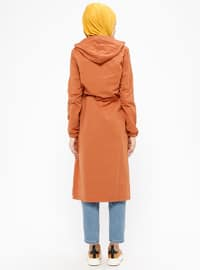 Tan - Unlined - Trench Coat