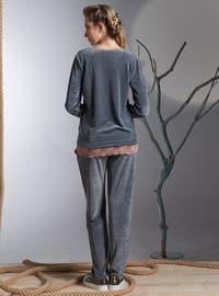 Anthracite - Crew neck - Pyjama
