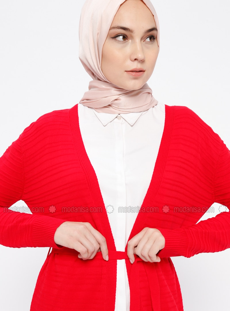 35e10fbae6e Red - Cardigan