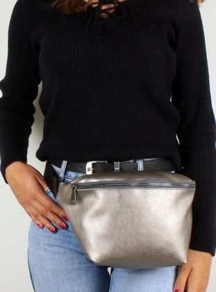 Silver tone - Clutch Bags / Handbags - Luwwe