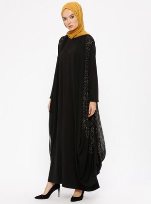 Black - Unlined - Suit - Ferrace By