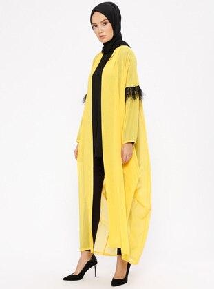 Yellow - Unlined - Topcoat - Ferrace By
