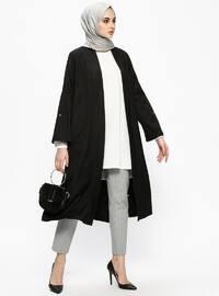 Black - Unlined - Topcoat
