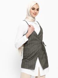 White - Ecru - Unlined - Cotton - Suit