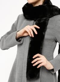 Black - Plain - Shawl Wrap