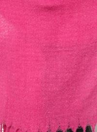 Acrylic - Pink - Fuchsia - Plain - Shawl Wrap