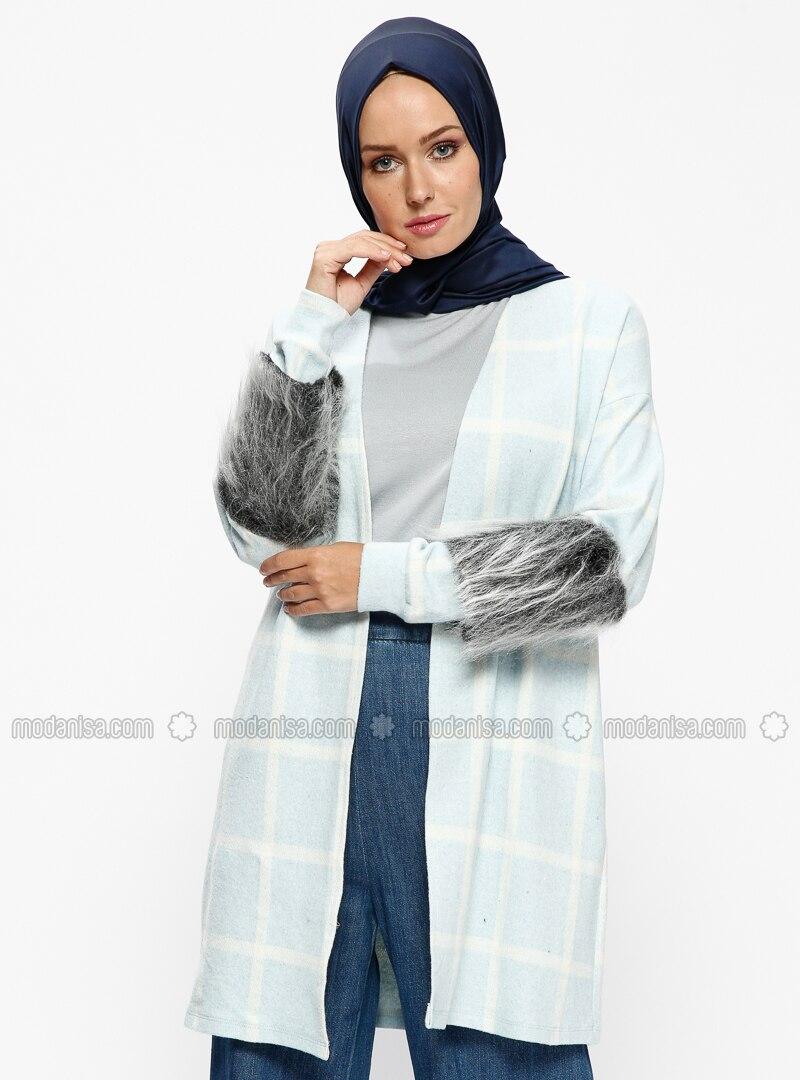 Blue - Stripe - Cardigan