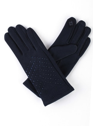 Navy Blue - Glove - Marlux