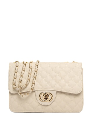 Cream - Shoulder Bags