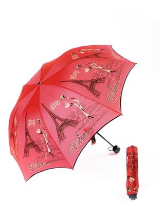 Marlux Şemsiye - Kırmızı