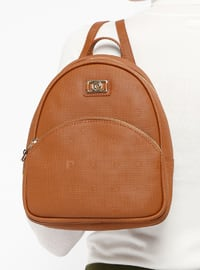 Tan - Backpacks - Pierre Cardin