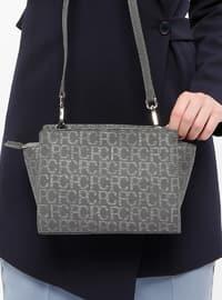 Gray - Shoulder Bags - Pierre Cardin