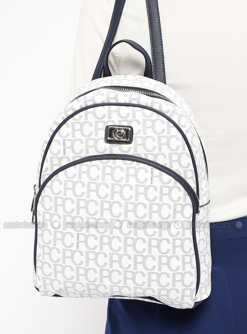 White - Backpacks - Pierre Cardin