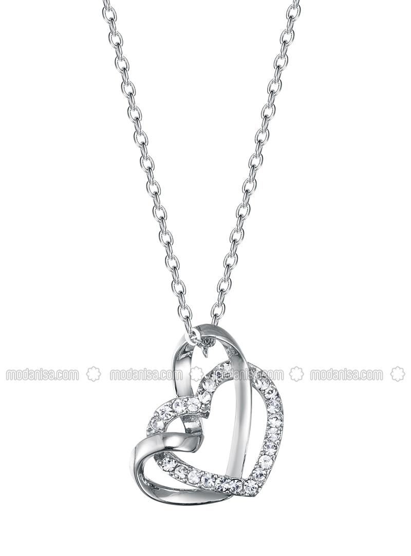 Silver tone - Necklace