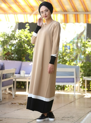 Minc - Crew neck - Unlined - Cotton - Acrylic -  - Dresses