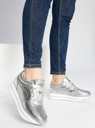 Spor Ayakkabı - Gümüş - Letoon Ürün Resmi