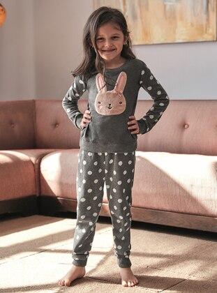 Smoke-coloured - Kids Pijamas - ANIL