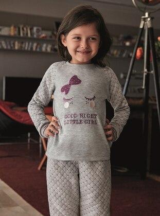 Gray - Kids Pijamas - ANIL