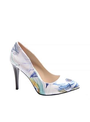 Reprise Topuklu Ayakkabı - Karışık Renkli