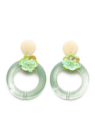 Green - Earring