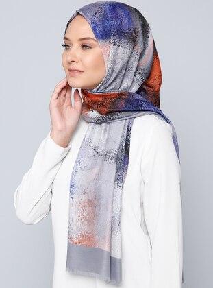 Wooltouch Etol Şal - Karışık Renkli - Aker Ürün Resmi