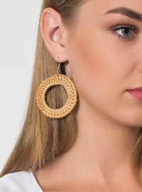 Brown - Earring