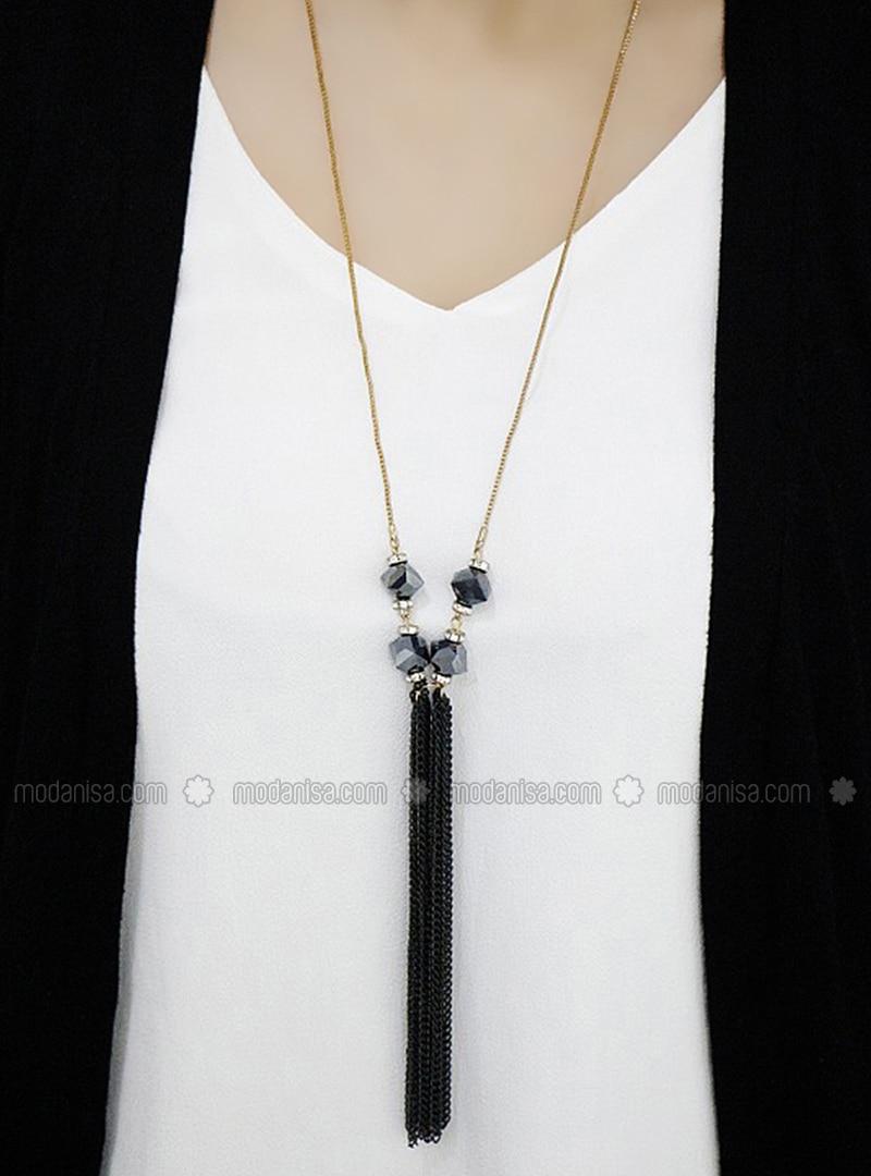 Black - Necklace