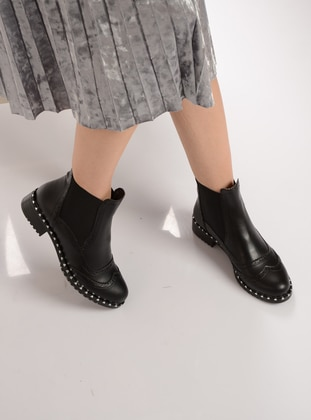 Black – Boot – Boots – Shoestime