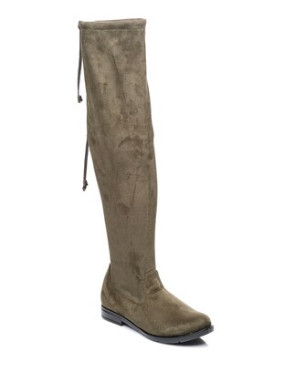 Khaki - Boot - Boots - Shoestime