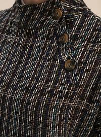Saxe - Maroon - Polo neck - Tunic