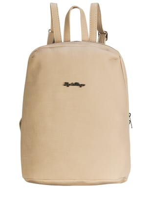 Beige – Backpacks – Getcho