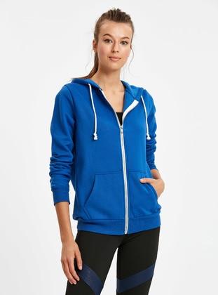 Sweatshirt - Mavi - LC WAIKIKI Ürün Resmi
