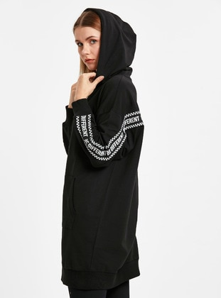 Sweatshirt - Siyah - LC WAIKIKI Ürün Resmi