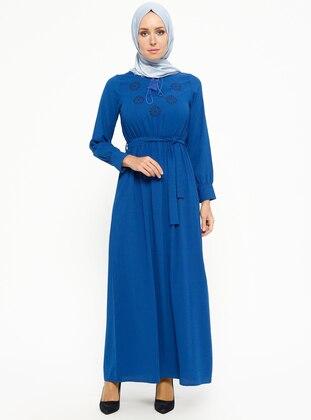 Saxe - V neck Collar - Unlined - Dresses
