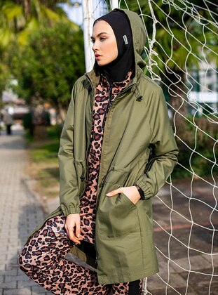 Khaki - Fully Lined - Trench Coat