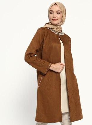 Camel - Unlined - Jacket