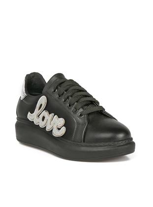 Black - Lamé - Sport - Sports Shoes