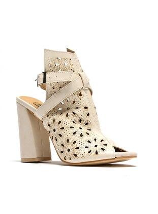 Topuklu Ayakkabı - Bej - ROVIGO Ürün Resmi