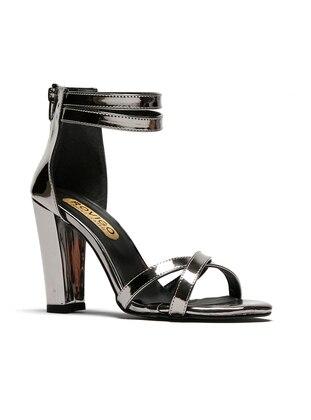 Topuklu Ayakkabı - Platin - ROVIGO Ürün Resmi