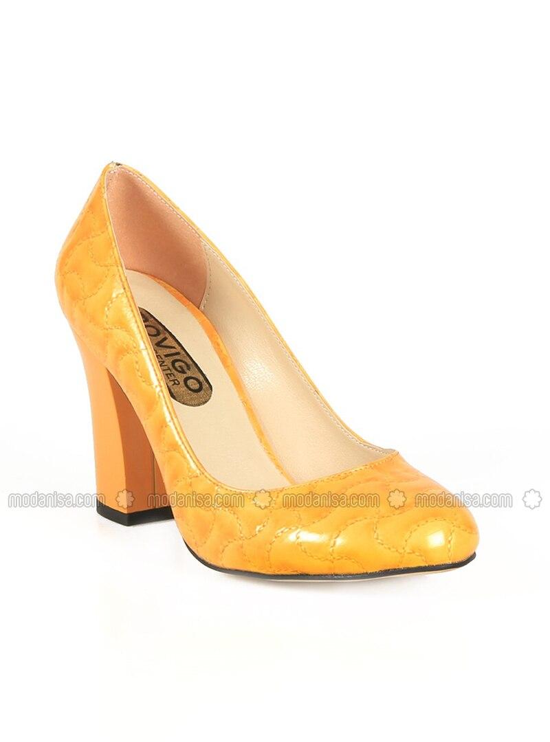 nouvelle arrivee vente limitée vente professionnelle Jaune - A talons - Chaussures
