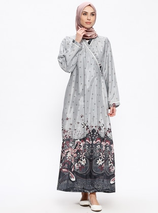 Gray - Multi - Unlined - Prayer Clothes
