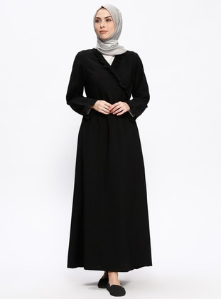 Black - Unlined - Prayer Clothes - Me Like