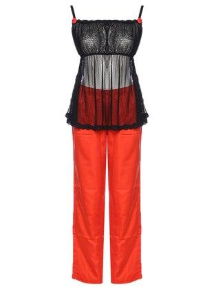 Black - Orange - Pyjama