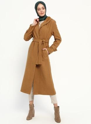 Tan - Unlined - Coat